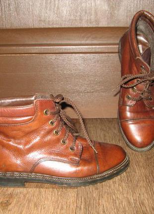 Немецкие кожаные ботиночки, р. 35
