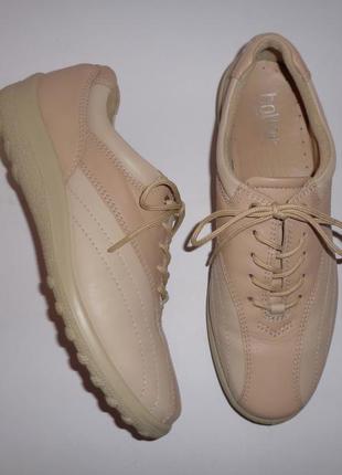 Туфли hotter англия натуральная кожа р. 39-40 ст. 26 см