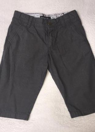 Хлопковые шорты marks&spencer на 6-7 лет рост 122 см.