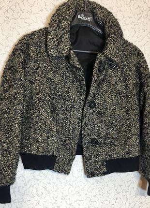Куртка жакет пальто шерсть мохер