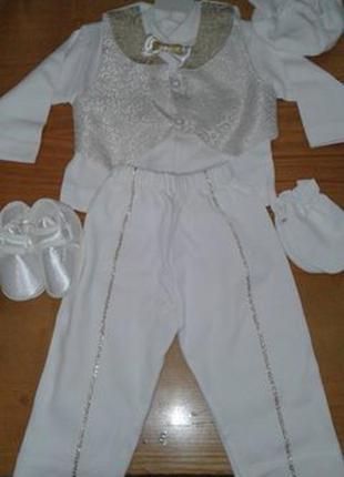 Нарядный детский костюм можно на крестины