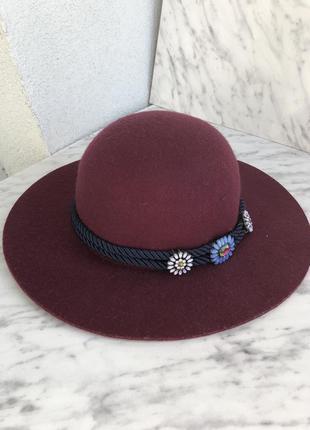 Раскошная шляпа zara