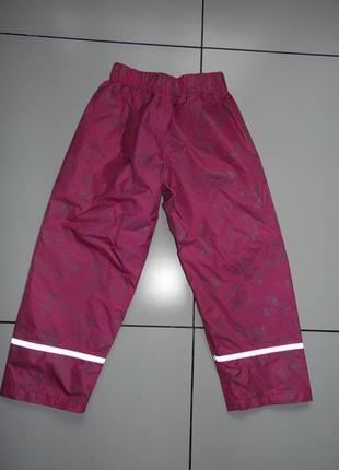 Штаны для дождя - rambo kids 5/6 лет 110/116 см. - нейлон