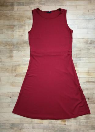 Красное платье lc waikiki