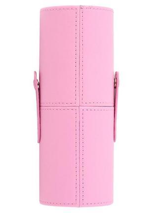 Футляр чехол тубус косметичка для кистей разные цвета 18 см, видео обзор