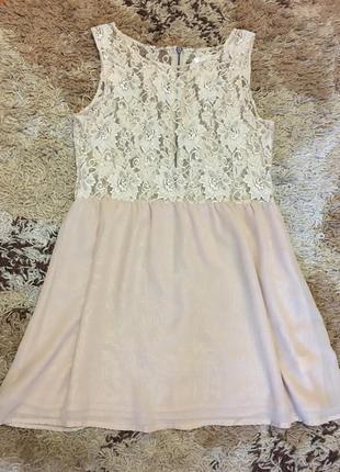 Красивое платье glamorous с ажурным верхом