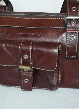 Gerry weber сумка саквояж натуральная кожа