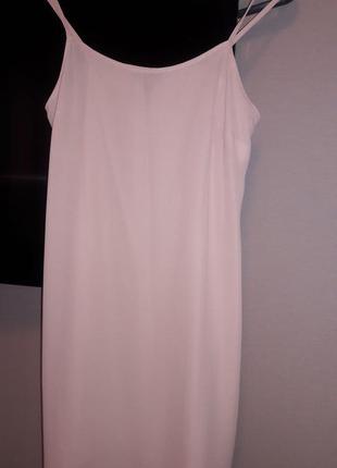 Платье в бельевом стиле,цавет пудра😘