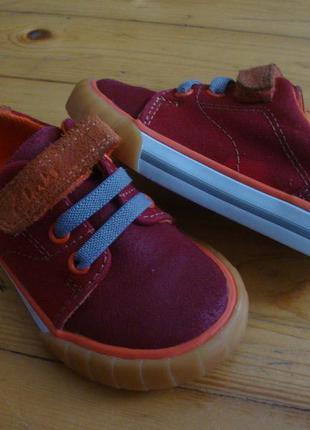 Туфли clarks натур кожа 21-22 размер