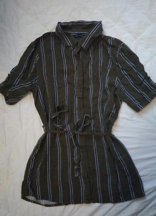 Удлененная блуза new look с поясом