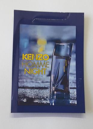 Пробник парфюма  kenzo homme night ,1 ml