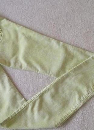 Красивые салатовые брюки джинсы skinny denim co узкачи новые фирменные2 фото