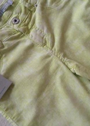 Красивые салатовые брюки джинсы skinny denim co узкачи новые фирменные3 фото