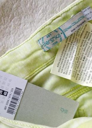 Красивые салатовые брюки джинсы skinny denim co узкачи новые фирменные5 фото