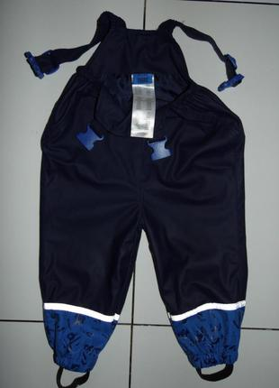 Детские штаны на лямках комбинезон x-mail  р.80-86/12-18 м/германия!!!