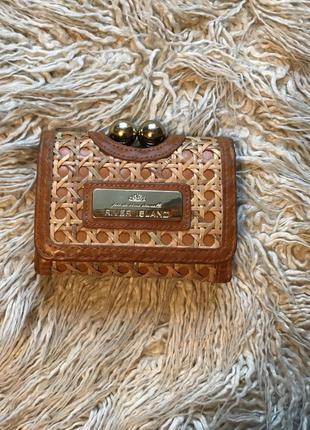 Крутой плетёный кошелёк
