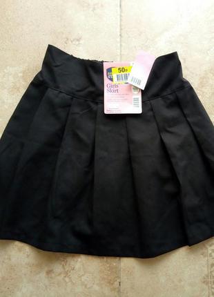 Школьная юбка на девочку 9-10 лет р. 134-140 см