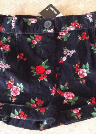 Красивые шорты george 4-5 л 100% хлопок