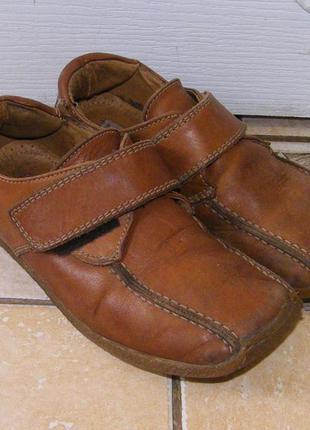 Кожаные туфли next девочке, стелька 20см (размер 31)