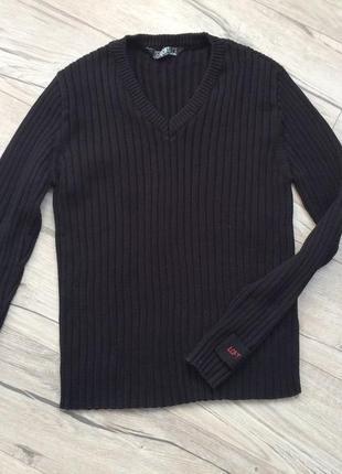 Черная кофта свитер джемпер