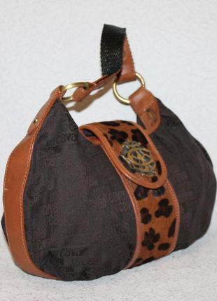 Оригинальная сумка just cavalli с голограммой