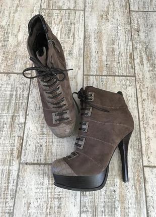 Распродажа#ботинки sharman#ботильоны#высокий каблук#