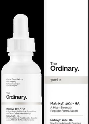 The ordinary matrixyl 10% + ha   матриксил