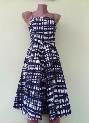 Платье миди пышное от george