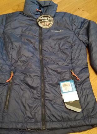 Демисезонная куртка columbia omni-heat размер xs