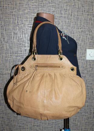 Большая кожаная сумка asos