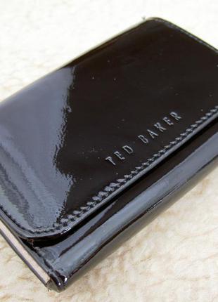 Компактный кожаный кошелек ted baker оригинал