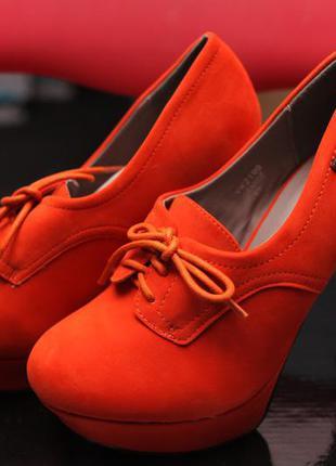 Туфлі жіночі jumex 37 (ботинки женские) 23,7 см