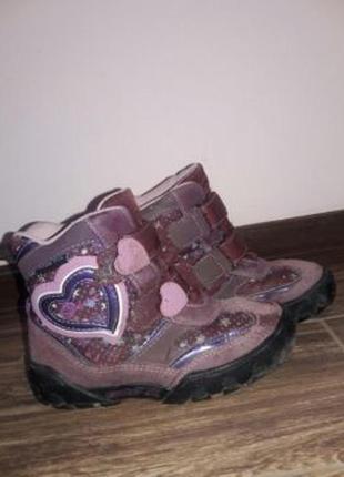 Весенние ботинки geox.оригинал