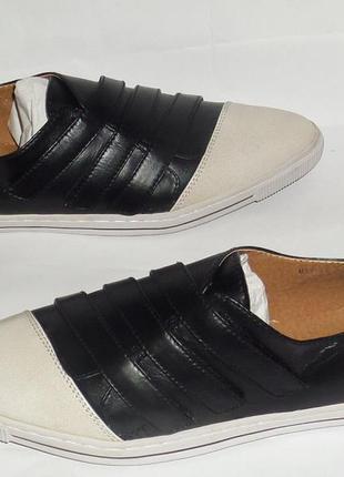 38 кожаные оригинальные туфли blend