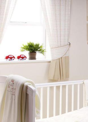 Занавески шторы bed-e-byes zippy zebra england