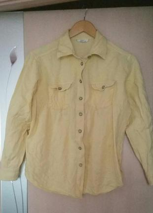 Стильная рубашка marks spencer