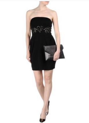 Премиум бренд blumarine италия. классическое платье