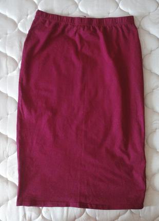 Красная юбка-карандаш atmosphere