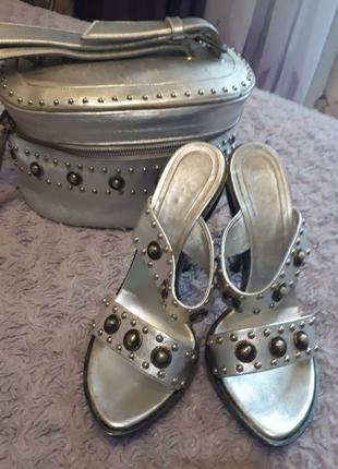 Набор серебро