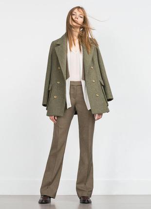 Классические прямые брюки от zara.