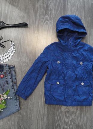 Тонкая курточка, ветровка демисезон 4-5 лет