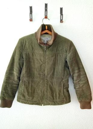 Весенняя куртка велюр zara