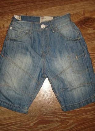 Matalan premium denim джинсовые шорты на 7 лет