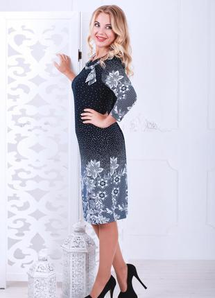 Романтичное, женственное платье с классическим силуэтом