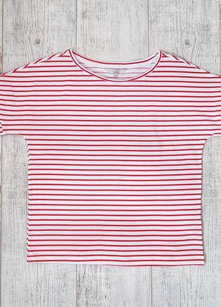 Женская трикотажная футболка c&a. размер m