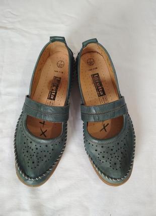 Кожаные туфли,балетки , мокасины. loretta.