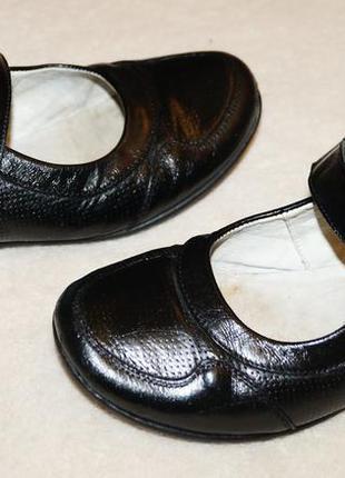 Туфли детские кожаные каприз балетки школьная обувь f945cefd9fff2