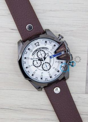Крутейшая!!! популярная модель мужских часов diesel 10-3bar, кварцевые