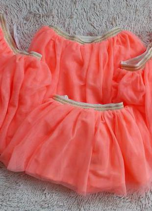 Яркие юбки н&м