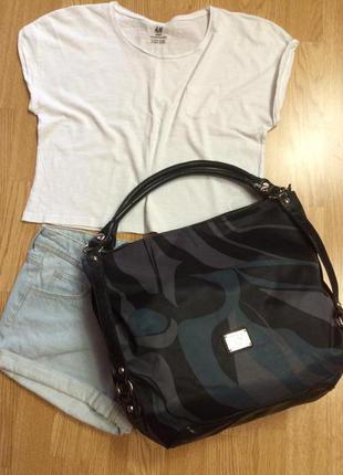 Фирменная сумка-шоппер hilistork since1986(italy),большая сумка,пляжная сумочка+подарок